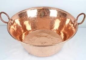 cazo de cobre